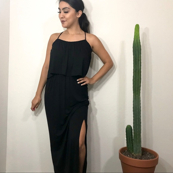Felicity & Coco Dresses & Skirts - • Little Black Maxi Dress •